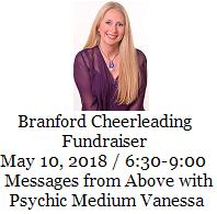 Branford Cheerleader Fundraiser