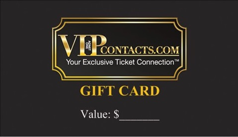 VIPcontacts.com Gift card