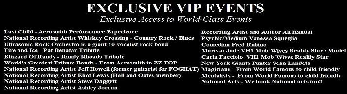 VIPcontacts.com Exclusive-VIP-Events