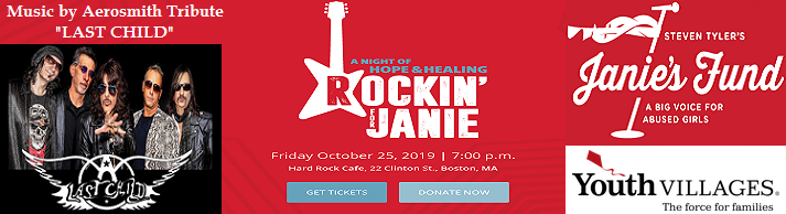 VIPcontacts.com Steven Tylers Janie Fund - A Night Of Hope And Healing - Rockin For Janie