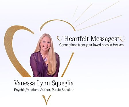 VIPcontacts.com Presents Psychic Medium Vanessa Lynn Squeglia